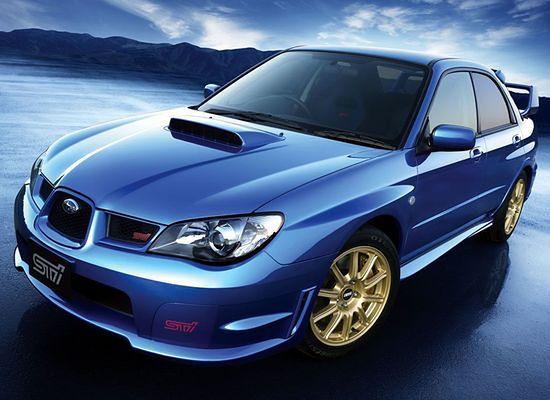 Subaru Impreza WRX STi - Niebieska legenda
