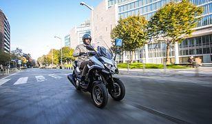 Kymco CV3 – nowy trójkołowy skuter na prawo jazdy kategorii B