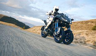 Yamaha Niken może dostać silnik z nowej odsłony modelu MT-09