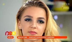"""Makijaż w stylu dziewczyny surfera w """"PnŚ"""""""