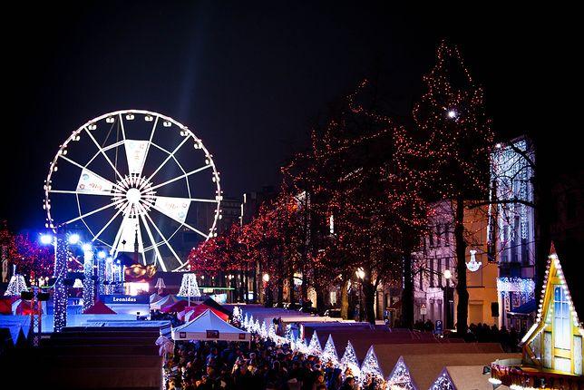 Jarmark świąteczny w Brukseli