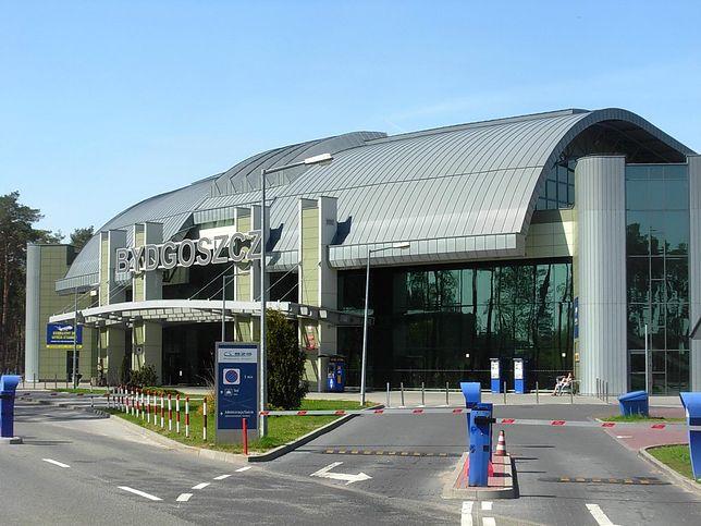 Terminal lotniska w Bydgoszczy