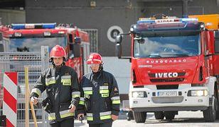 Wybuch w firmie farmaceutycznej w Łomiankach
