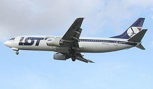 Awaryjne lądowanie maszyny LOT-u na lotnisku Chopina w Warszawie