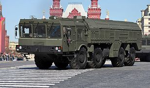 Rakiety Iskander w obwodzie kaliningradzkim na stałe. Mogą przenosić głowice jądrowe