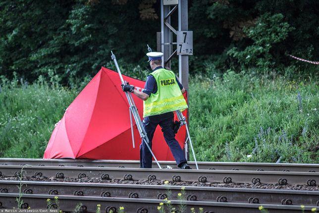 Warszawa. Tragedia na torach. Pociąg potrącił mężczyznę