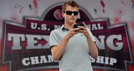 17-letni nowojorczyk pisze esemesy najszybciej w kraju