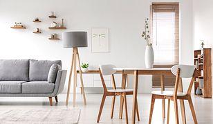 Eleganckie meble z drewna będą ozdobą modnego wnętrza