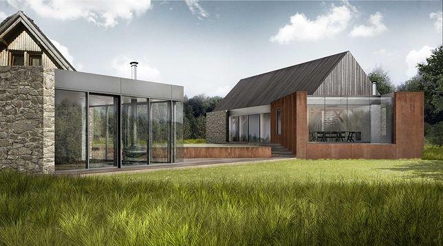 Nowoczesny projekt zachowuje wygląd starych kaszubskich domów, ale przy zastosowaniu współczesnej technologii.