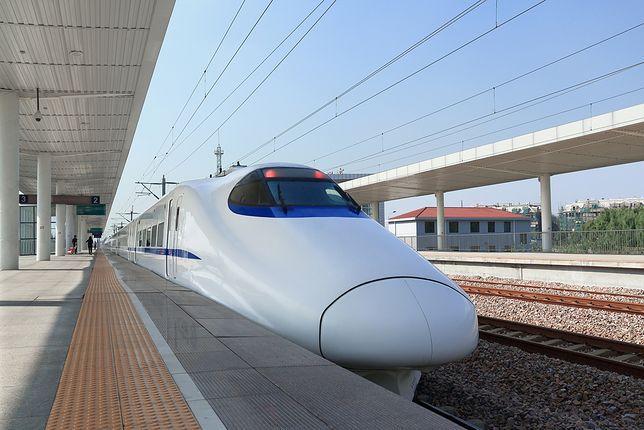 Chiny wybudują linię kolejową do USA