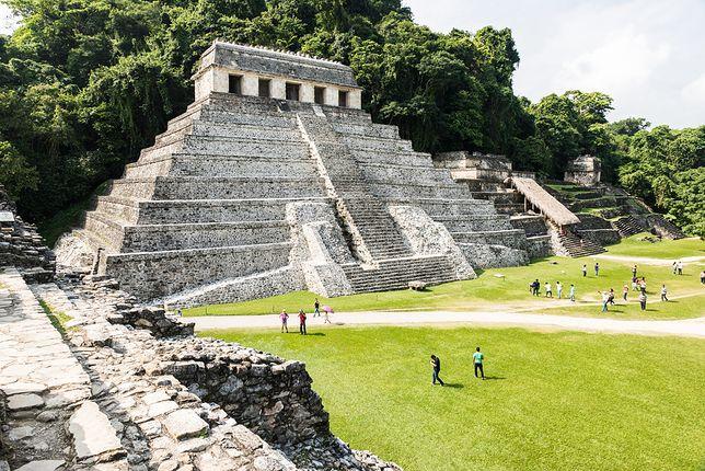 Najbardziej znane spośród zabytków Meksyku są piramidy Majów