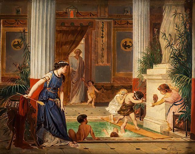 Na prywatne przyłącze wody stać było tylko najbogatszych starożytnych Rzymian
