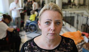 Iwona Hartwich jest jedną z organizatorek sejmowego protestu