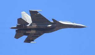 """Rosja. Katastrofa myśliwca Su-30. """"Został przypadkowo zestrzelony"""""""