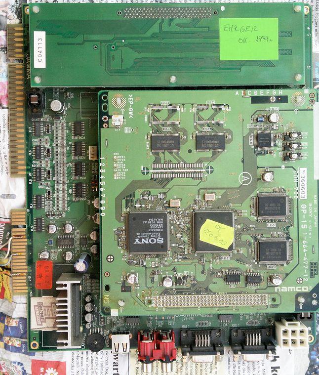 Ehrgeiz - Namco System 12 - wymaga oględzin, brakuje przynajmniej jednego kondensatora