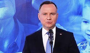 Prezydent Andrzej Duda przypomniał, co dokładnie powiedział o 500 plus