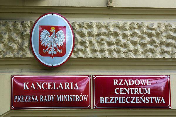 Szef Rządowego Centrum Bezpieczeństwa złożył rezygnację