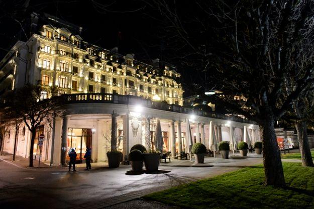 Rozmowy toczą się w hotelu Beau Rivage Palace w Lozannie