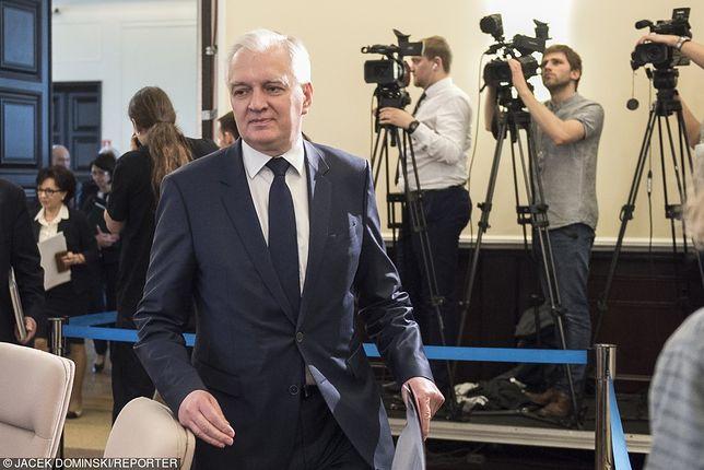Gowin krytycznie o niemieckiej minister