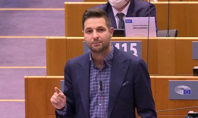 Debata w PE o Polsce. Głos zabrał Patryk Jaki