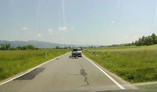Tatry. Kierowca zaatakował rowerzystów