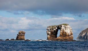 Galapagos. Zawalił się Łuk Darwina