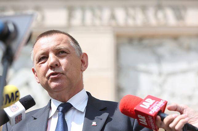Prezes NIK Marian Banaś po wybuchu afery poszedł na bezpłatny urlop i wrócił do pracy w Izbie