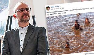 Michał Guć, wiceprezydent Gdyni, naraził się wielu osobom swoim wpisem