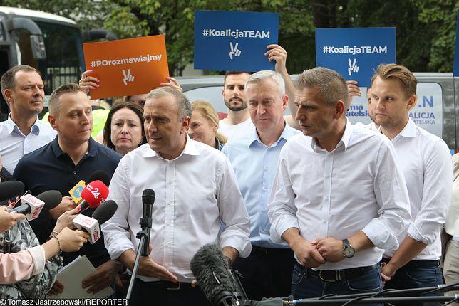 Koalicja Obywatelska, sztab wyborczy.