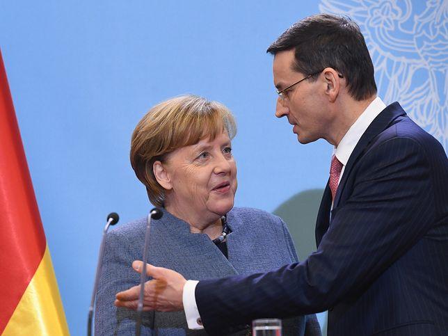 Morawiecki i Merkel świetnie się dogadywali - przekonują w PiS