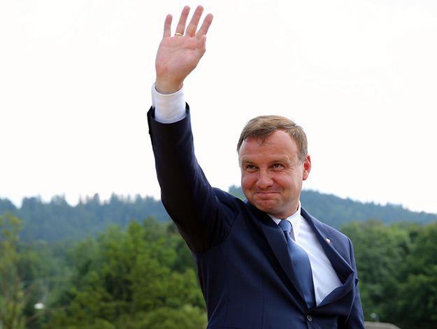 Prezydent-elekt Andrzej Duda