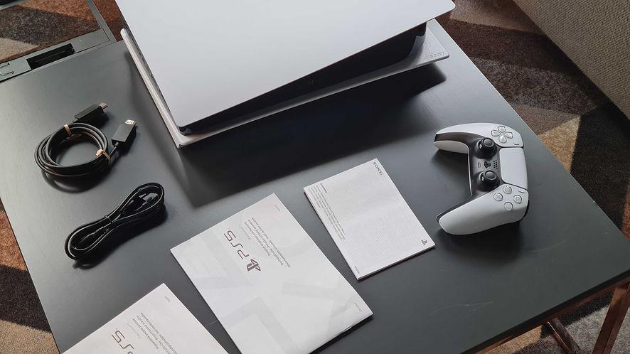 PlayStation 5, fot. dobreprogramy (Piotr Urbaniak)