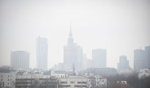 Warszawa. Smog w stolicy. W środę obowiązuje alert żółty