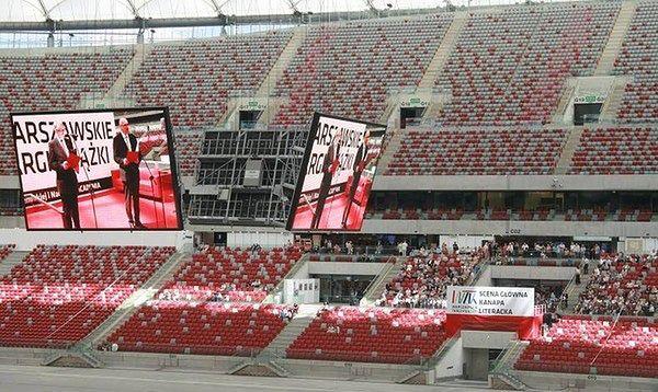 6. Warszawskie Targi Książki 2015 na Stadionie Narodowym