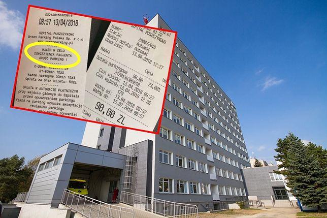 Kwoty za parkowanie oburzyły DJ-a. Szpital wyjaśnia, skąd te ceny