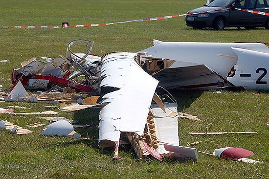 Wypadek szybowca na Lubelszczyźnie; 2 osoby w szpitalu