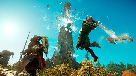 New World piątą najpopularniejszą grą na Steam. Do miliona graczy trochę zabrakło