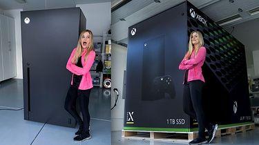 Lodówka Xbox Series X naprawdę istnieje. Mem stał się faktem - Xbox Series X jako lodówka - zaczęło się od mema