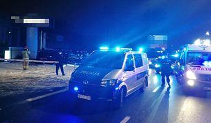 Warszawa. Pościg policyjny zakończony w Wawrze. Obywatel Białorusi staranował radiowóz