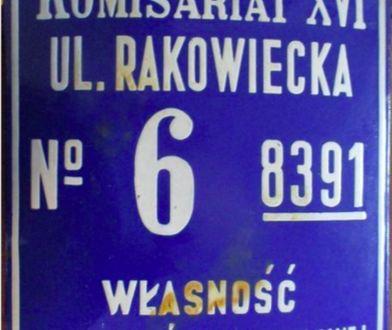 Warszawa. Historia zatoczy koło. Przedwojenna tabliczka wróci do siebie
