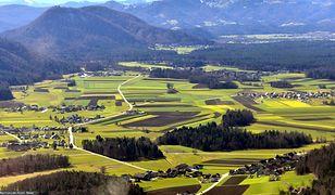 Słowenia region przygraniczny z Włochami