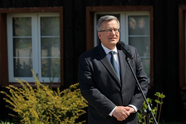 Bronisław Komorowski wystartuje w wyborach?