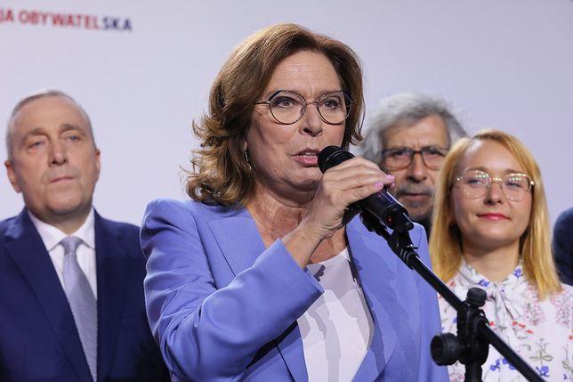 Jedną z kandydatek PO na prezydenta jest Małgorzata Kidawa-Błońska