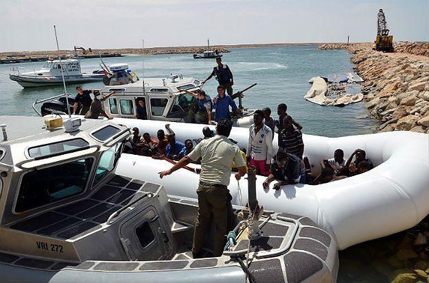 Libia: zatonęła łódź z uchodźcami, mogło zginąć 200 osób