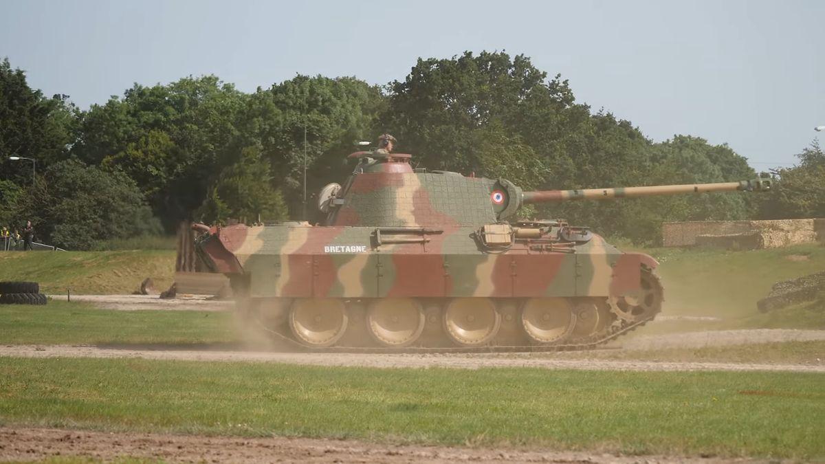 Niemiec posiadał na swojej posesji czołg - zdjęcie ilustracyjne
