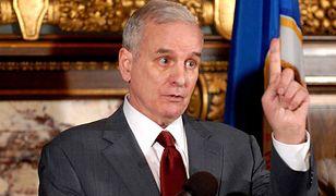 USA: gubernator zasłabł podczas wystąpienia