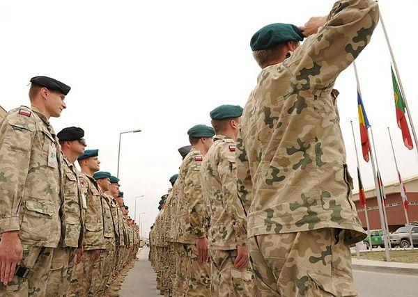 Polscy żołnierze w Afganistanie