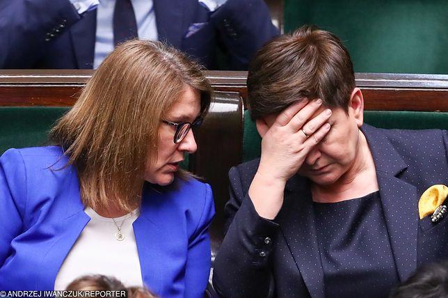 Beata Mazurek stanęła w obronie Beaty Szydło