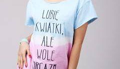 """""""Wolę orgazm"""", czyli prowokacyjne t-shirty na wiosnę"""