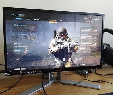 AGON AG251FG świetnie nadaje się do gier takich jak Call of Duty: Warzone